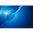 Dark blue hi-tech background vector image vector image