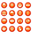 Great Britain icons set vector image vector image