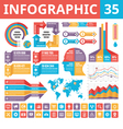 Infographic elements 35 vector image vector image