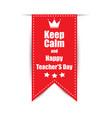 leiba on teachers day celebration vector image vector image