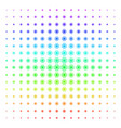 processor shape halftone spectrum grid vector image