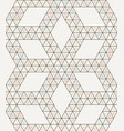 seamless geometric triangle pattern vector image vector image