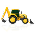 tractor 04 vector image vector image