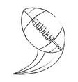 ball american football vector image vector image