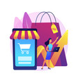 consumer demand abstract concept vector image vector image
