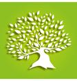 decorative tree vector image