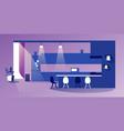 empty no people modern kitchen interior vector image