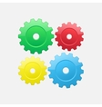 Four gears vector image vector image