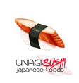 kani sushi vector image vector image