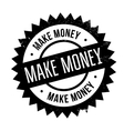 Make money stamp vector image