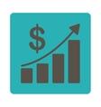 Sales Growth Icon vector image vector image