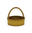 wattled basket vector image