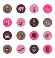Fashion circle icon vector image