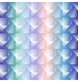 3d square mosaic seamless pattern Vintage colorful vector image vector image