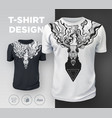 abstract modern t-shirt print design with dead