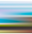 Blurred landscape vector image