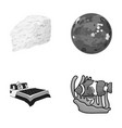 business the industrial and other monochrome icon vector image