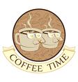 coffee time break vector image