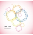 Color line Circle design eps vector image