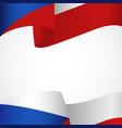 decoration czech republic insignia on white vector image
