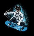 doctor skate vector image