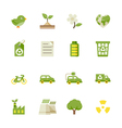 Ecology icons and Environment icons vector image