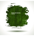 GREEN GRUNGE SHAPE vector image vector image