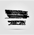 modern hand drawn ink grunge textures template vector image vector image