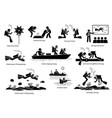 underwater diving jobs for professional divers vector image vector image