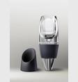 wine aerator vector image
