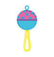 baby bell isolated icon vector image