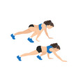 bear crawl exercise introduction step with healthy