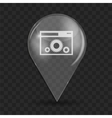 Setting Glossy Icon vector image vector image