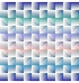 3d square mosaic seamless pattern Vintage colorful vector image