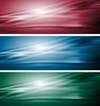 Elegant dark banners vector image vector image