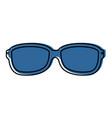 glasses accessory icon vector image vector image