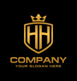 hh logo vector image