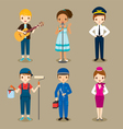 People With Different Occupations Set vector image