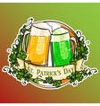 St Patricks Day label vector image vector image