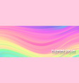 abstract smoothly pattern from strips transitions vector image vector image