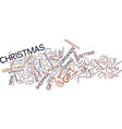 great gifts under text background word cloud vector image vector image