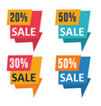 promotion sale banners vector image vector image