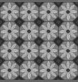 seamless daisy ceramic mosaic vector image vector image