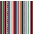 Stripes Seamless pattern Christmas winter colors vector image vector image