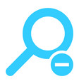 flat magnifier icon magnifying glass sign vector image