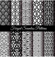 Forged Seamless Patterns Set vector image