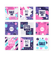 big sale special offer banners set bright vector image