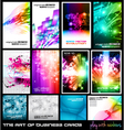 dj poster collection vector image vector image