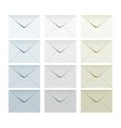 letter set collection vector image vector image