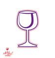Wine Goblet vector image vector image